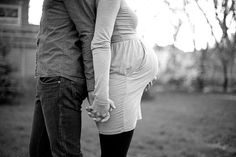 No one pregnant in my family to take pics like this, but love it anyway.  maternity