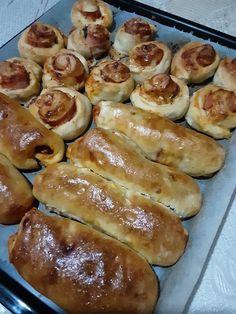 Tα πιο Γρήγορα κι Εύκολα Πιτσάκια! - Χρυσές Συνταγές Pretzel Bites, Bread, Food, Brot, Essen, Baking, Meals, Breads, Buns