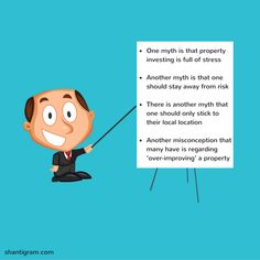 Property investing can be an extremely profitable venture. However, many new property investors are victims of several myths surrounding property investing. Let us look at some of these myths.