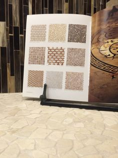 #ThrowbackThursday to our 2004 Art of Stone Catalog. Good things never change, like the Crema Marfil Rubble that is still a timeless look and installed in our showroom after all these years! https://www.arizonatile.com/en/products/mosaics/natural-stone-mosaics/crema-marfil-rubble #cremamarfil #timeless #naturalstone