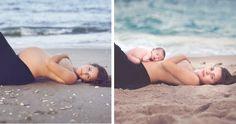 GALERIE: Nejkrásnější momentky, které zachycují ženy před a po porodu - Evropa 2