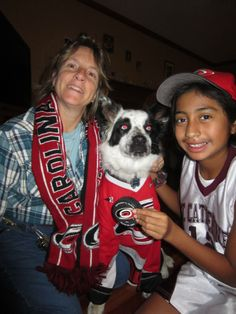 These #Canes fans and their pup show their love of the #Canes! #furricanes