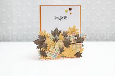 Tarjeta de hojas | Mimama Handmade