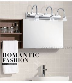 NO. 13 9W Crystal Wall Lights in Bathroom (JQ-5660) http://ecobrt.en.made-in-china.com/product/rXwnPTYAVRcz/China-9W-Crystal-Wall-Lights-in-Bathroom-JQ-5660-.html  http://www.aliexpress.com/store/product/2013-New-Wall-Lighting-220v-Bridgelux-LED-Mirror-Lamps-Bathroom-Crystal-Wall-Light-Cabinet-Headlight-3W/814962_933940271.html