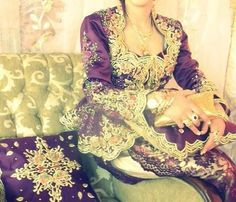 Karakou Most Beautiful Dresses, Traditional Outfits, Bridal Dresses, Marie, Wedding Day, Couture, Formal Dresses, Womens Fashion, How To Wear