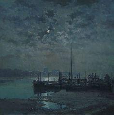 Rod Pearce - Thames Moonlight