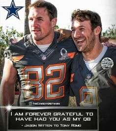 Jason and Tony Dallas Cowboys #NFLFootballBoys