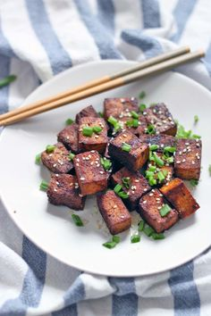 Pan Seared Soy Sauce and Black Pepper Tofu