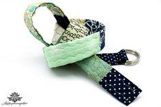 Patchwork Gürtel von Lieblingsmanufaktur: Farbenfrohe Loop Schals, Tücher und mehr auf DaWanda.com