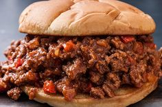 A Sloppy Joes recipe is easy to make. Add seasonings with Worcestershire and tomato sauce, simmer until the flavors concentrate into a sweet, tangy mixture.