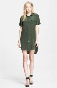 How To Wear: The Shirt Dress http://howtoweareverything.com/wear-shirt-dress/