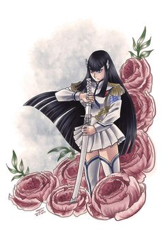 Satsuki Kiryuin, Kill La Kill, Goth, Geek Stuff, Anime, Goth Subculture, Geek Things, Gothic, Anime Shows