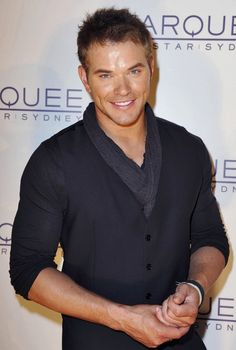 Kellan Lutz at the opening of the Marquee Night Club in Sydney, Australia on March 30th.