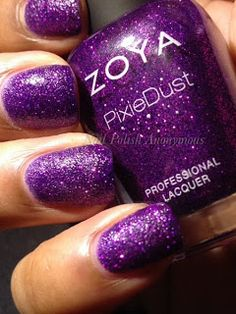 Nail Polish Anonymous: Zoya Pixie Dust Fall 2013 Collection