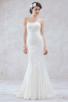 Wedding gown by Galina at David's Bridal