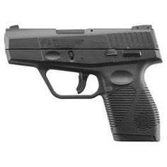 "Taurus PT740 Slim Semi Auto Handgun .40 S&W 3.2"" Barrel 6 Rounds Fixed 3 Dot Sights Synthetic Frame Black 1-740031FS"