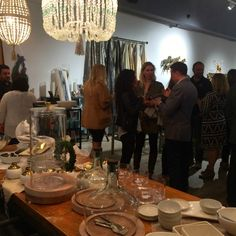 Hacienda Austin: Libation and Inspiration Event (showcasing a festive buffet table mixing rustic and modern)