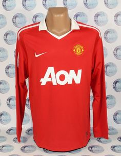 f60adc2b319 MANCHESTER UNITED 2010 2011 HOME FOOTBALL SOCCER SHIRT JERSEY TRIKOT NIKE M   Nike  ManchesterUnited