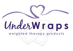 Under Wraps Weighted Therapy Products logo Therapy, Wraps, Logos, Products, Logo, Healing, Rolls, Rap, Gadget