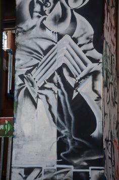 'Pillar of Back To The City, Johannesburg, South Africa. South Africa, Street Art, Strength, That Look, Detail, City, Drawings, Artist, Pictures