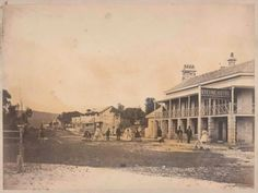 Manly Beach in the Northern Beaches of Sydney in 1860.A♥W