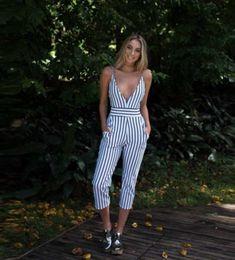 Shorts, Stripe Print, Fashion Addict, Foto E Video, Body, Outfits, Chic, Instagram, Womens Fashion
