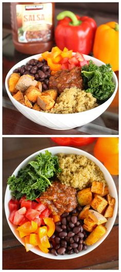 Southwestern Vegan Power Bowl  Healthy, Protein Rich, and so simple to make!