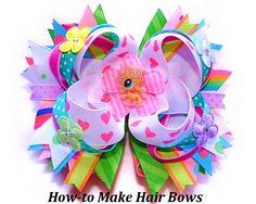 Descargar Instant - cómo hacer arcos del pelo Boutique - pelo arco instrucciones - lazo tutoriales - sin coser - sin cable