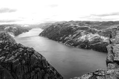 #hiking #norway #mountains #snow #sky #clouds #landscape #view #nature #beautiful #breathtaking #picture #fog #canon #traveling  #photography #travel #blackandwhite #pic #earth  #blackandwhitephotography #travelgram #trip #waterfall #water #river #fjord #trees by franzi_travels_
