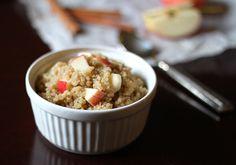 Cinnamon Apple Breakfast Quinoa - 195 calories per 1/2 cup
