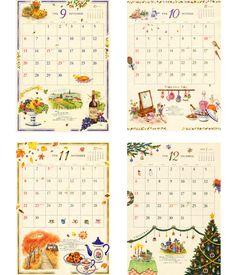カレンダーのイラスト1