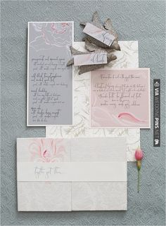Rice Ink Stationery | VIA #WEDDINGPINS.NET