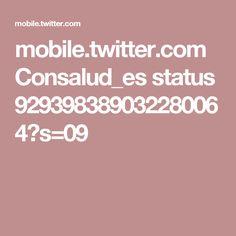 mobile.twitter.com Consalud_es status 929398389032280064?s=09