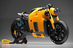 Koenigsegg Motorcycle Concept by Burov Art 2