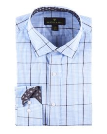 Checked Button Front Shirt