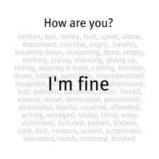 My biggest lie...