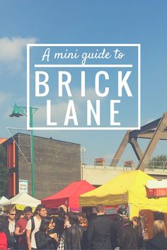A Mini Guide To Brick Lane Where to eat drink get coffee spot street art and shop on Brick Lane east London London Market, East London, London Brick, Hotels, Brick Lane, London Places, Things To Do In London, London Life, London Calling