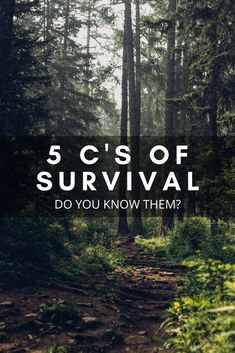 Do you know the 5 C's of Survival? Don't be left unprepared the next time you are out adventuring, hiking, camping or any other activity that can leave you needing to survive. The 5 C's give you everything you need in a survival situation.