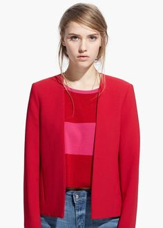 MANGO - Structured jacket #SS15