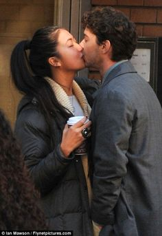Shia LaBeouf his girlfriend Karolyn Pho and a to go cup of Milano Coffee!!!