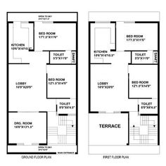 Architecture Design Plans duplex floor plans | indian duplex house design | duplex house map