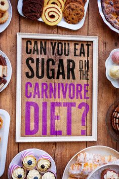 Are you allowed to sneak in a little sugar while trying the carnivore diet? We look at what some of the carnivore diet proponents say and drop the knowledge. Zero Carb Diet, No Carb Diets, Low Carb Recipes, Diet Recipes, Meat Diet, Food Portions, Easy Diets, Diets For Women, Diets For Beginners