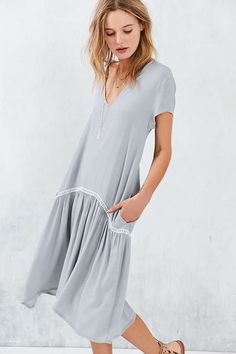 Little White Lies Kimmy Tiered Ruffle Dress - Urban Outfitters