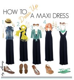 How to Dress Up a Maxi Dress