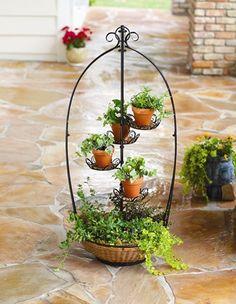 Montgomery Ward basket planter