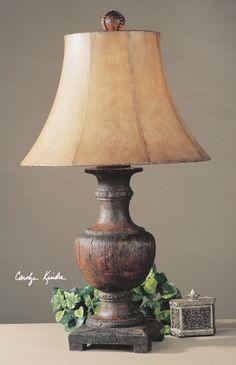 my new rustic italian lamps