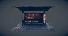 Bus stand, jasvinder  singh on ArtStation at https://www.artstation.com/artwork/bus-stand-cfbdd0b6-1c5f-40a2-885f-9d038f3b553a