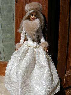 Fur looks fab on Barbie