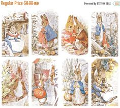 Hey, j'ai trouvé ce super article sur Etsy, chez https://www.etsy.com/fr/listing/245509992/on-sale-bunny-characters-by-beatrix