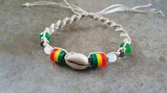 Check out this item in my Etsy shop https://www.etsy.com/listing/509790507/hemp-bracelet-adjustable-bracelet-cowrie